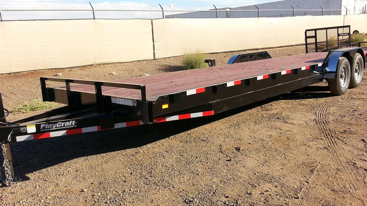 Car Haulers Playcraft Trailers Utility Trailers Phoenix Arizona